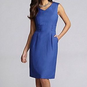 Alex Marie Clarissa Linen Blend Sleeveless Dress 8